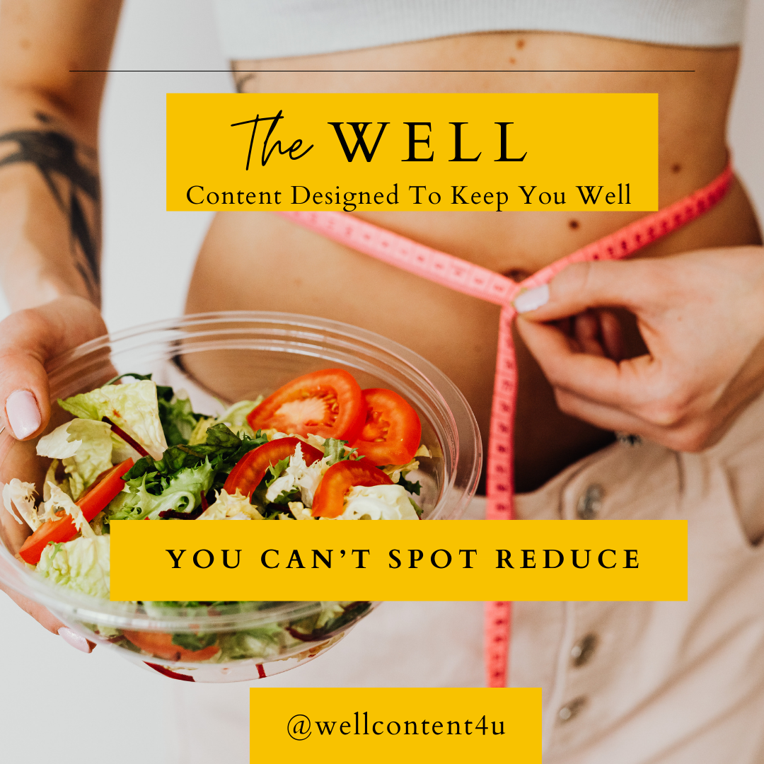 You Can't Spot Reduce: 3 Reasons Why You Can't Burn Fat Only in One Area